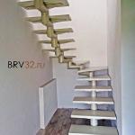 Пример изготовления летницы в Брянске